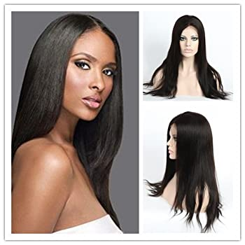 Wigsroyal Virgin Human Hair Silk Top Full Lace Wigs for Women Hidden Knots Ultimate Natural Looking 20 Inch