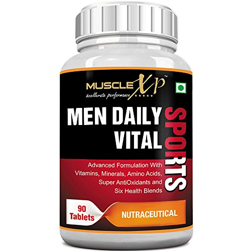 MuscleXP MultiVitamin Men Daily Sports with 47...