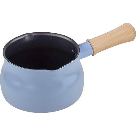 和平フレイズ 1~2人用 マルチパン 15cm ブルー 5つの使い方 焼く 炒める 煮る 茹でる 揚げる ふっ素樹脂加工 IH・ガス対応 RB-1506