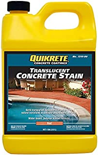 Quikrete Translucent Concrete Stain Red gal - 2pack