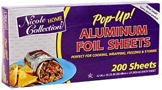 Aluminum Foil 12 x 10-3/4 pre-cut - 200 Count