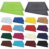Badvorleger / Badematten / Badteppich - 2er Pack - Baumwolle 800g/m² - 50x80 cm - Farbe Royalblau