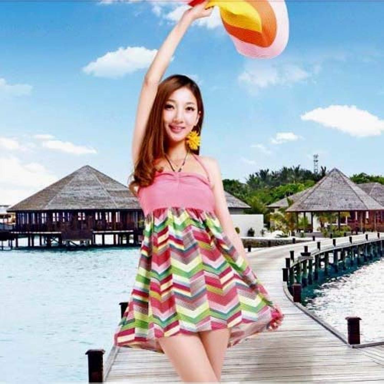 ZHRUI Siamese Swimwear_Split Rock Style Badeanzug ist auch in Einem Einem Einem Badeanzug, eine große Anzahl von Rosa, M (Farbe   Wie Gezeigt, Größe   Einheitsgröße) B07MHY6DMT  Hervorragender Stil ee3e39