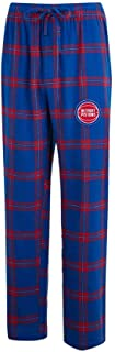 Men's NBA-Homestretch-Plaid Sleepwear Pajama Pants-With Pockets