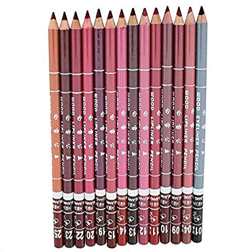 Tonsee Frauen Lipliner wasserdicht Lip Liner Pencil 15CM 12 Farben pro Set neu