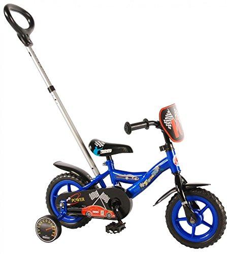 Kubbinga Jungen Yipeeh Power Fahrrad, blau, 10-Inch
