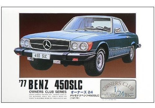 1/24 `77 Mercedes Benz 450SLC (Model Car) Micro Ace(Arii) Owners Club 24|No.03