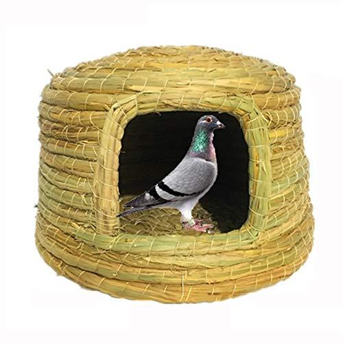 Nistkästen Handgewebe Nester, Tauben, Papageien Und Birdhäuser, Komfortable Und Warme Ruhetvogelkäfige (Size : 23x16cm)