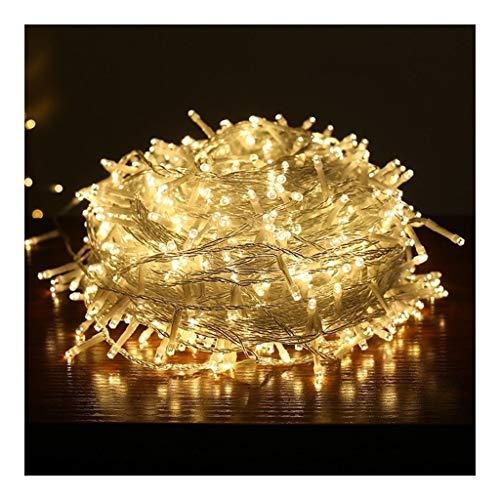 HH-HH LED Luci della Stringa, Filo Impermeabili Starry Micro Luce Natalizia Argento con Weding del Partito di Natale Giardino con Patio Tatuaggi (Color : #3, Size : 50m 400leds)