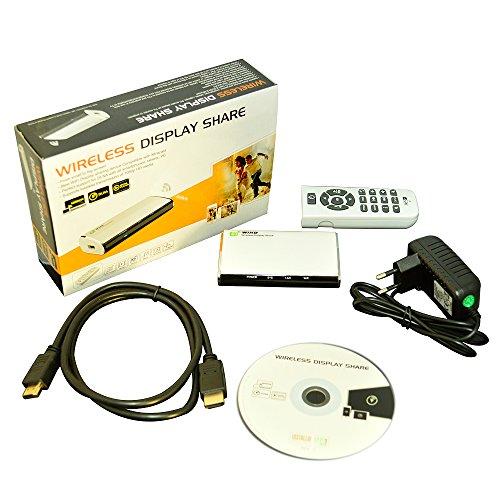 Wireless Media Aktie PNI AV601 RJ45 Airfun Airfun Aircontrol Media Streamer, Wireless Router