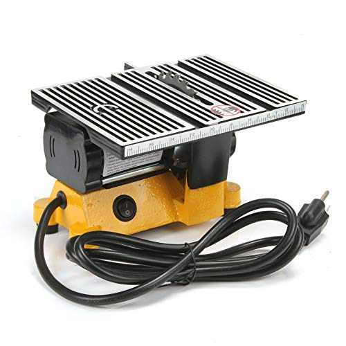 """4"""" Mini Table Saw Top Cut Off Miter Saw for Precision Cut Metal Wood Frame Molding"""