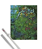 1art1 Marc Chagall Kunstdruck (80x60 cm) Le Bouquet Ardent