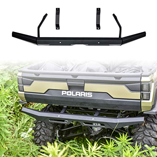 UTV Bumper for Ranger XP 1000, SAUTVS Rear Bumper Brush Guard for Polaris Ranger XP 1000 / Crew XP 1000 / Diesel 2018-2021 Accessories, Black #2882529
