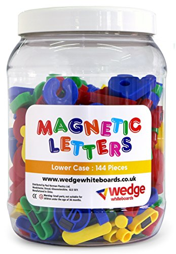 wedge Tub of 144 - Magnetic Lower Case Letters