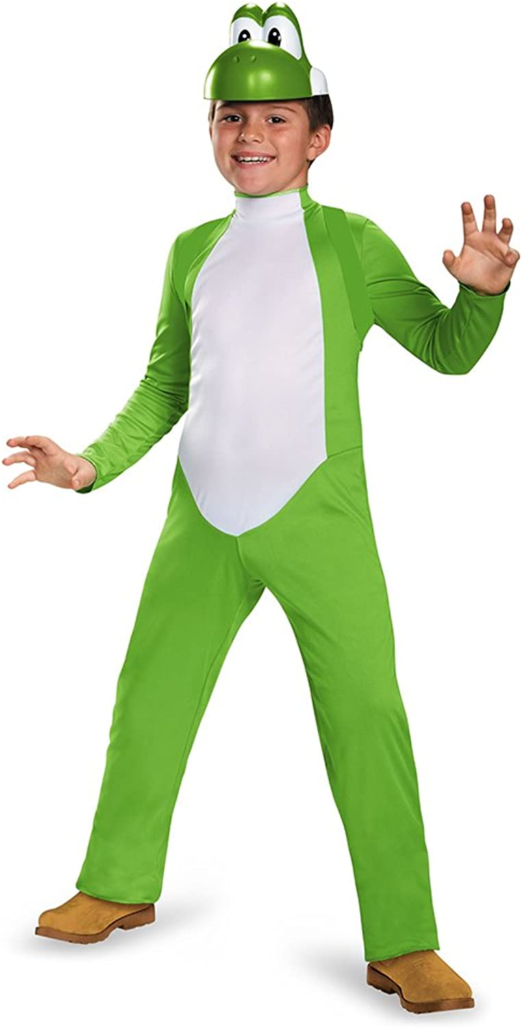 Disguise Costumes Yoshi Deluxe Costume, Medium (7-8), One color