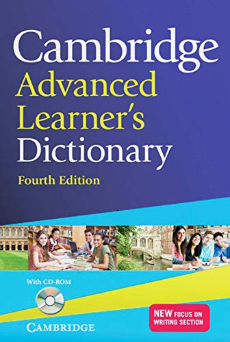 Cambridge Advanced Learner's Dictionary Fourth edition. Book with CD-ROM: Hardback with CD-ROM