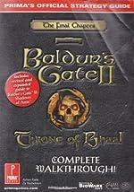 Baldur's Gate 2 - Throne of Bhaal Official Strategy Guide de Prima Development