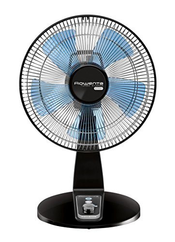 Rowenta VU2631 Turbo Silence Table Fan, Portable Fan, 4 Speed Fan with User Friendly Turn Dial