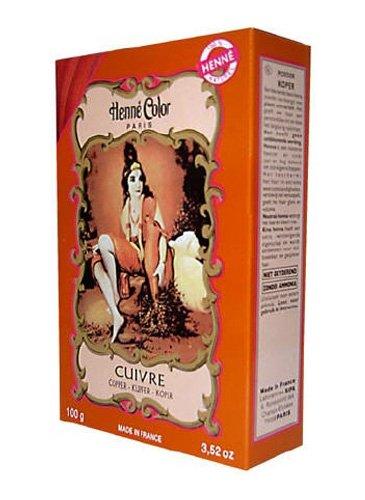 Henné Color Copper (Kupfer) Henna-Pulver