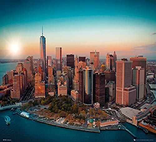 GB Eye 40 x 50 cm Freedom Tower Manhattan New York Mini Posters, Multicolore
