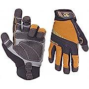 CLC Custom Leathercraft Contractor XtraCoverage Flex Grip Work Gloves