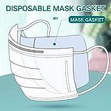 fyb 100 PCS Masque Jetable Joint Remplacement Masque Pad Sécurité Anti-Poussière Filtre Respiratoire Masque Anti-Poussière Masque Contre La Pollution Tapis