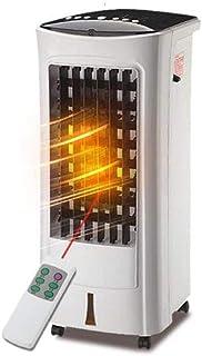 iferchers Ventilador de Aire Acondicionado/Enfriador de Aire/Ventilador de enfriamiento,Uso Dual frío y Caliente,Control Remoto,Ahorro de energía,Silencio,Hogar Tamaño: Uso Dual frío + Control Remoto