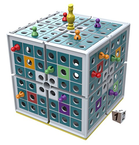 Image of the Squashed 3D Strategy Board Game