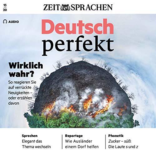 Deutsch perfekt Audio 13/2020 Titelbild