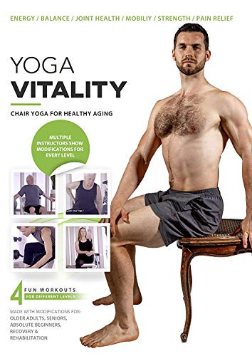 Yoga Vitality - Chair Yoga For Seniors, Older...