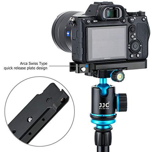 JJC Handgriff Metall Kameragriff für Sony Alpha A7R IV A7R III A7R II A7 III A7 II A7S II A9   Verbessertes Handling   Arca Swiss schnellwechselplatte kompatibel mit Stativ   Akku direkt wechseln