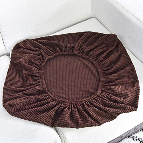 HXTSWGS Housse de canapé Housse de Fauteuil,Sofa Seat Cushion Cover, Stretch Sofa Covers for Living Room Chair Cover Pets Kids Furniture Protector-Brown_Length 230-280cm
