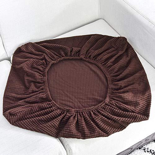 HXTSWGS Fundas de sofá de Grueso,Funda de cojín para Asiento de sofá, Fundas de sofá elásticas para Sala de Estar, Fundas para sillas, Mascotas, niños, Protector de Muebles-Brown_Length 230-280cm