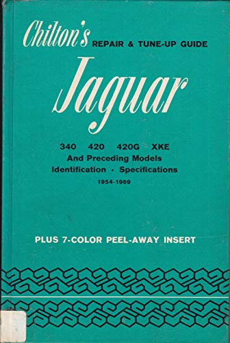Repair and Tune-up Guide for the Jaguar