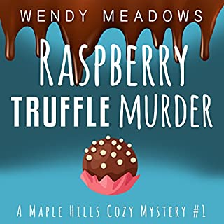 Raspberry Truffle Murder audiobook cover art
