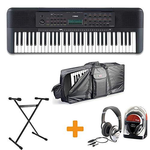 Yamaha PSR-E273 Keyboard Set III mit Ständer, Kopfhörer und Tasche