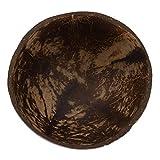 Hemoton Cuenco de Coco Cuencos de Ensalada Naturales Cáscara de Coco Cuenco para Servir para Veganos Desayuno Fiesta Helado Cereal