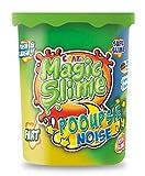 CRAZE Magic Slime POOUPSIE Noise dickflüssiger Pups Schleim 100 g in Dose 21989, Bunter Spielschleim für Kinder