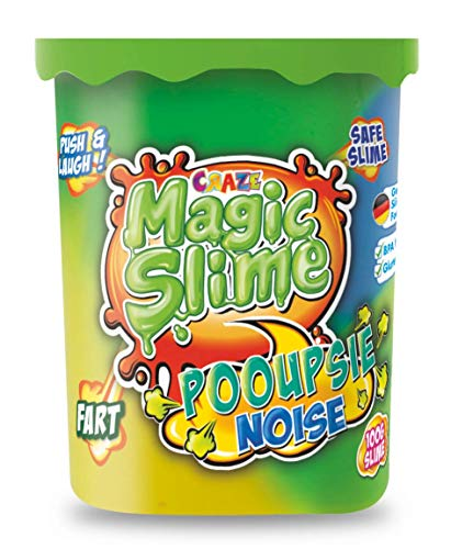 CRAZE Magic Slime POOUPSIE Noise dickflüssiger Pups Schleim 100 g in Dose 21989