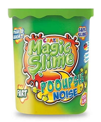 CRAZE Magic Slime POOUPSIE Noise dickflüssiger Pups Schleim 100 g in Dose 21989