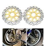 TARAZON 320mm paar Bremsscheiben vorne für Suzuki GSXR 600 750 1000 GSXR HAYABUSA 1300 GSX 1400 TL 1000 R S