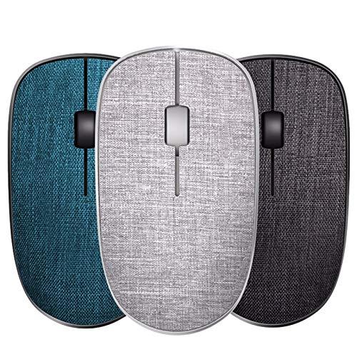 DYB Wireless Mouse - ergonomico Silenzioso Ufficio Gaming Mouse 2.4G Bluetooth 3.0 4.0 di Controllo di Collegamento Accessori for Computer Tablet Gaming Mouse Tessuto Ufficio (Color : ABC)