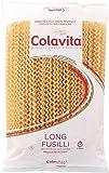 Colavita Long Fusilli (Col Buco) Pasta, 1 Pound (Pack of 12)