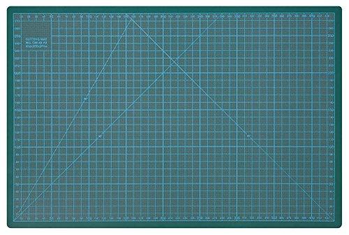 Wedo 079145 Cutting Mat, Tappetino da Taglio 450 x 300 x 3 mm, 45 cm, Verde
