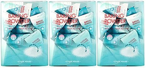 3 Sets 72packs Etude House Baking Powder Crunch Pore Scrub 7g Cleanser