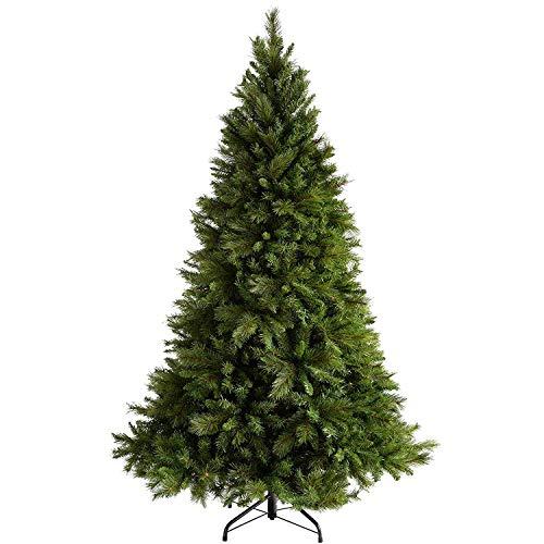 Red Co. Árbol de Navidad Artificial con bisagras de Abeto de Alta Calidad de...