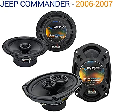 Fits Jeep Commander 2006-2007 Factory Speaker Replacement Harmony R69 R65 Package