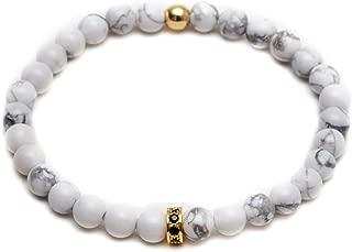 ZENGER Jewelry 6mm Grade AA Beaded Bracelet