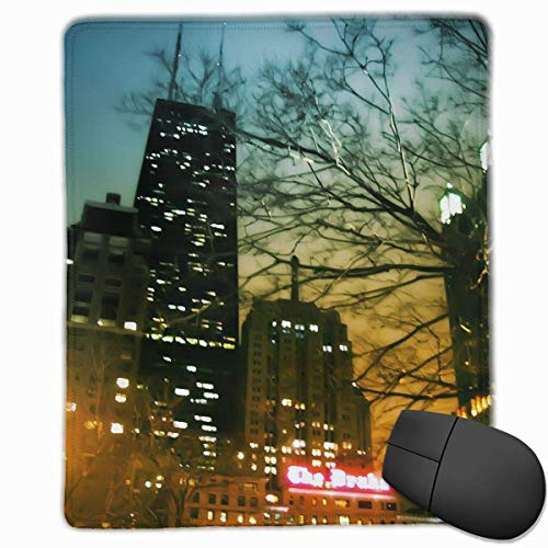 Gaming Mouse Pad, Personalized Custom Mouse Padnon-Slip Rubber Gaming Mouse Pad,Stay Positive Work Hard and Make It Happen Drake-palmolive-Hancock