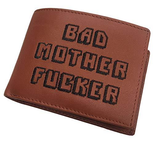 BAD MOTHER FUCKER パルプ フィクション MAX CADY製 本革 二つ折り財布